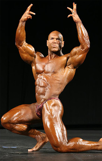 Awesome bodybuilder, whether he's gay or not doesn't really enter into it.