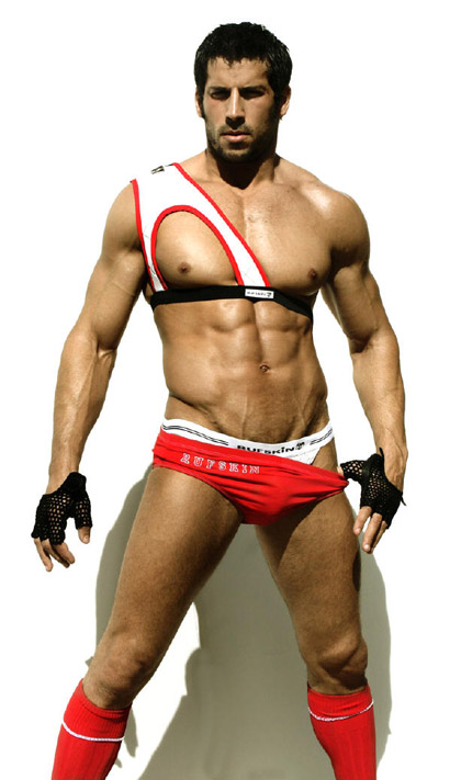Hot Muscle Men in Colored Underwear Gallery 6