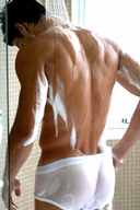 Sexy Muscle Men in White Underwear - Pictures Gallery 8