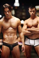 Part 15 of Hot Hunks in Underwear - What Color is Beautiful?