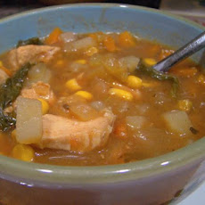 Crock Pot Chicken Corn Soup
