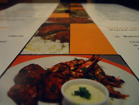 Grillery menu