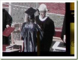 MacKenzie gets her diploma