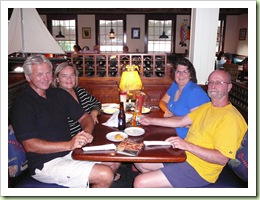 Dan, Debbie, Randy & Terry at Red Lobster