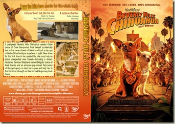 Disney Beverly Hills Chihuahua (2008) Cover