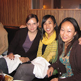 Melissa's Going Away Party at Whisknladle and Holiday Lab Dinner at Fogo Del Mar December 2009
