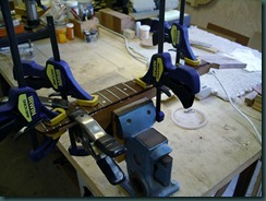 FB glue-up