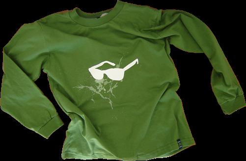 Moleton infantil Wayfarer verde