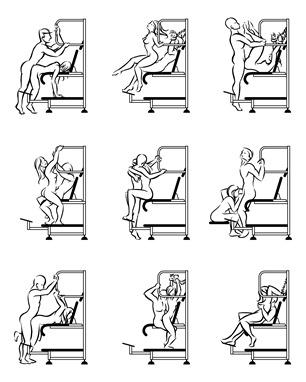 Desenhos cadeira erótica Ainon