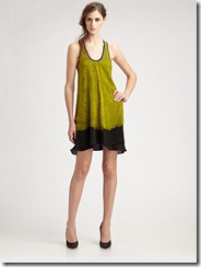 Proenza Schouler Shibori Silk Tank Dres