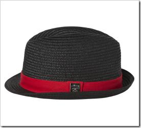 Stussy Spiral Fedora Hat