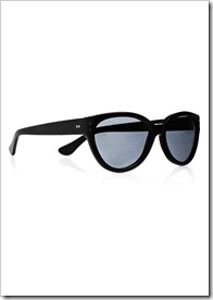 Cutler and Gross Oval-frame acetate sunglasses