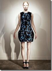 Erdem Pre-Spring 2011 Printed Dresses Look 4