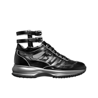 Hogan by Karl Lagerfeld Interactive Sneaker With Ankle Strap