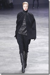 Rick Owens RTW Fall 2011 Runway Photos 8