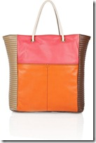 Yves Saint Laurent Lucky Chyc Color-block Leather Tote