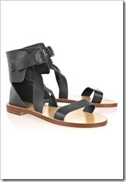 Chloé Multi-strap leather sandals