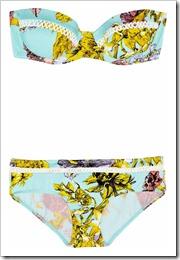 Zimmermann Valentine printed underwired bikini a