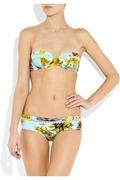 Zimmermann Valentine printed underwired bikini b