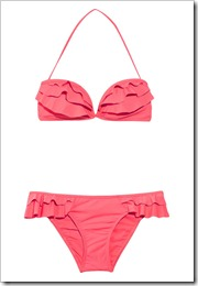 Zimmermann Ebony Rose frilled bikini a