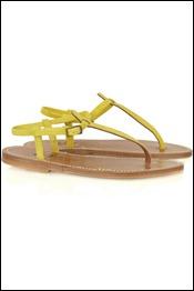 K Jacques St Tropez Picon flat suede sandals