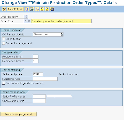 configuration required for sap production order and process order rh sapsword com
