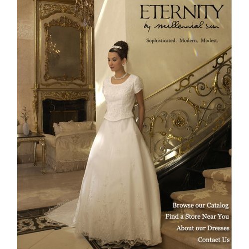 bridal gowns and wedding dresses: Eternity by Millennial Sun WHite ...