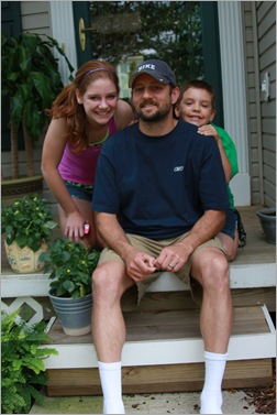 Tony w/ kids June 21, 2009