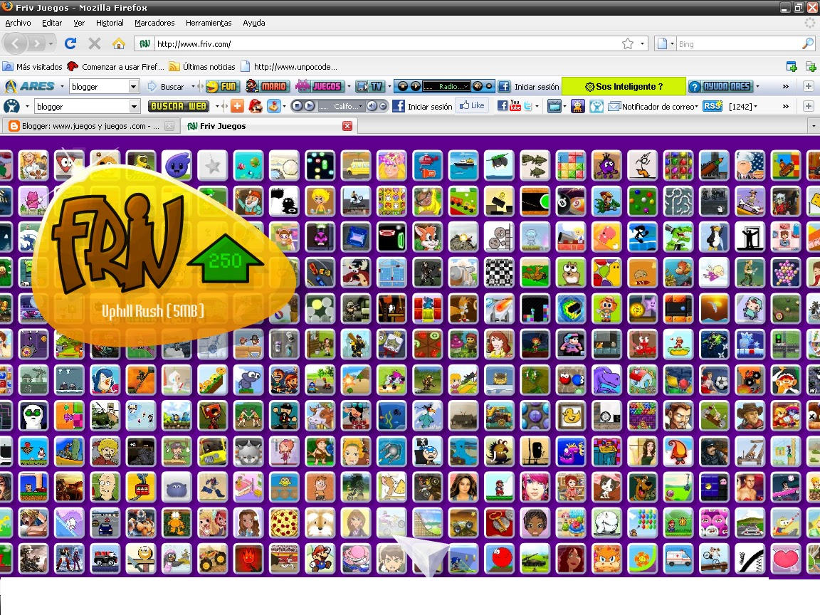 FRIV: La web de juegos más divertida ~ Juegos gratis y Software ...