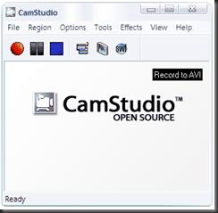 โปรแกรม CamStudio