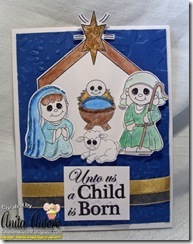 Nativity Scence by Anita Autore