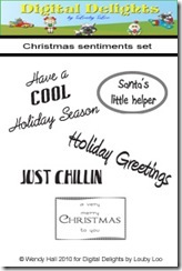 Christmas Sentiments Set