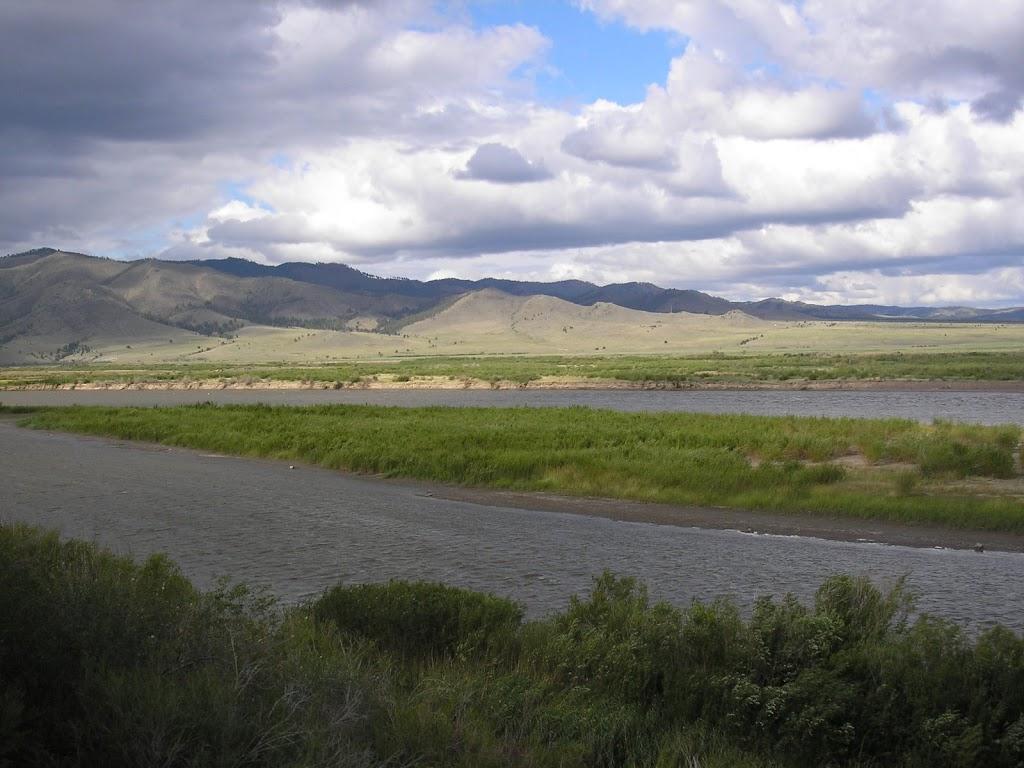 Selenga - najdlhší prítok Bajkalu