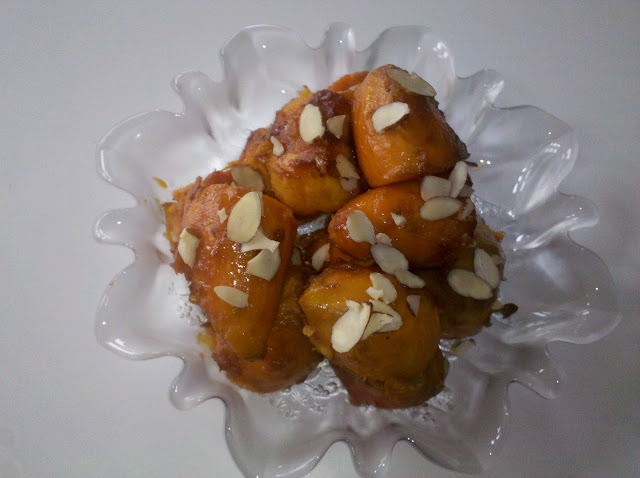 Candied Yams with Almonds