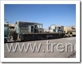 Los restos de la Locomotora Dt-16001 Número 341 de FERRONOR