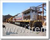 Locomotora 7065, V16 G.E. DASH 9,  de la Hamersley Iron/ Rio Tinto