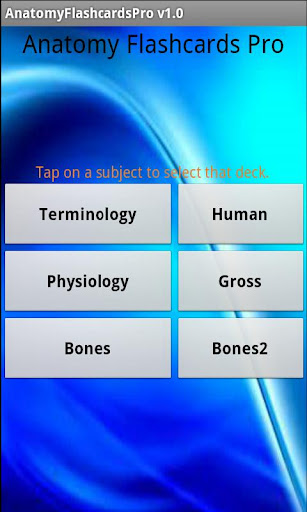 Anatomy Flashcards Pro
