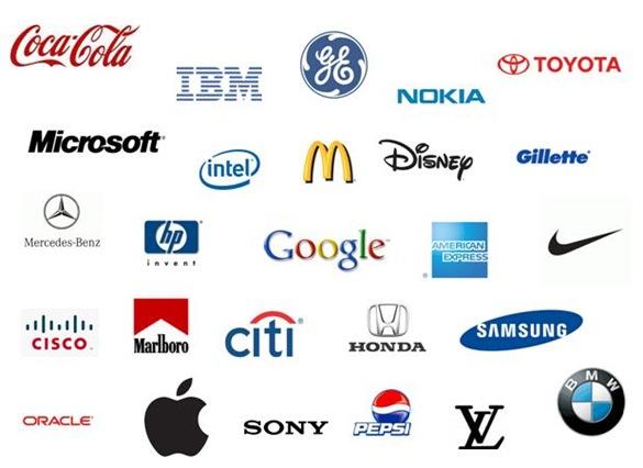 marcas reconocida a nivel mundial
