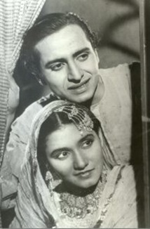 Pran and Noorjehan in Khaandaan
