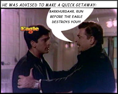 Ajit advises Shashi Kapoor