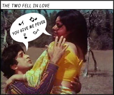Shashi and Rakhee romance