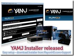 Playon-YAMJ-installer