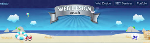 top 10 web design beach