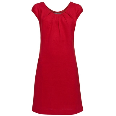 Shift Dress on Red Linen Summer Shift Dress By Tu At Sainsbury S