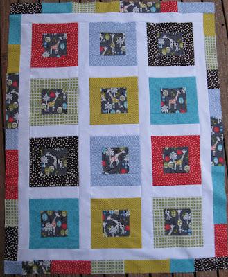 AhhhQuilting: Giraffe Quilt Pattern - blogspot.com