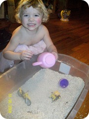Mimi in sandbox