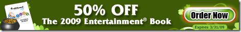 Entertainment Book 2009