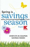 Kmart Spring Savings Coupon Booklet