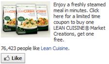 Lean Cuisine Market Creations
