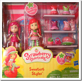 Strawberry Shortcake Sweetest Styles